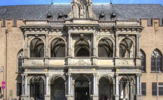 Koelner Rathaus - Renaissance–Laube